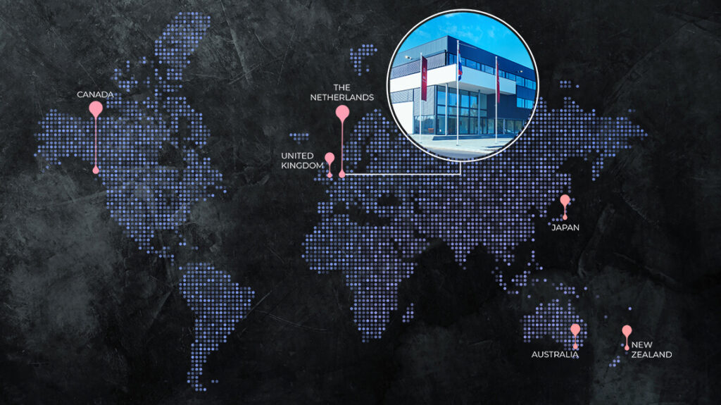 EU Map Headquarters